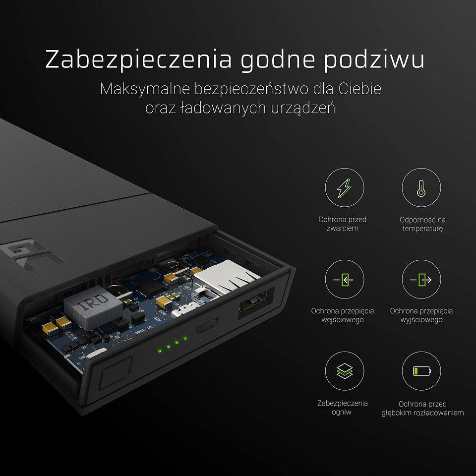 Green Cell PRIME - pierwszy power bank zaprojektowany w Polsce 2