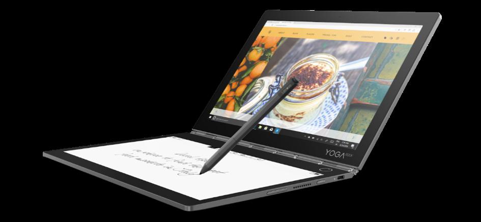 Futurystyczna wizja laptopa – Yoga Book C930