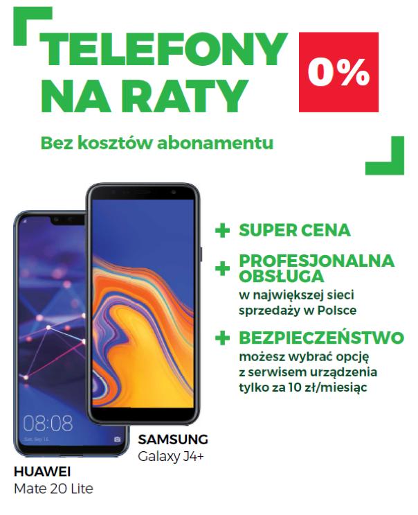 W Plusie telefony na raty 0% bez kosztów abonamentu 2