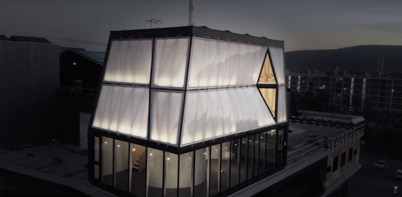 dom zbudowany przez robotów 3D
