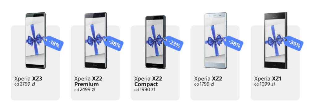 Kolejne atrakcyjne oferty sprzedaży Xperii 1