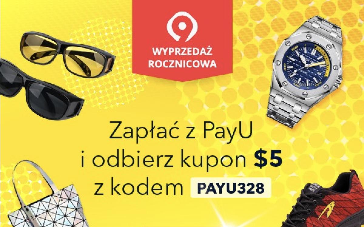 AliExpress wraz z PayU startują z kampanią Wyprzedaż Rocznicowa
