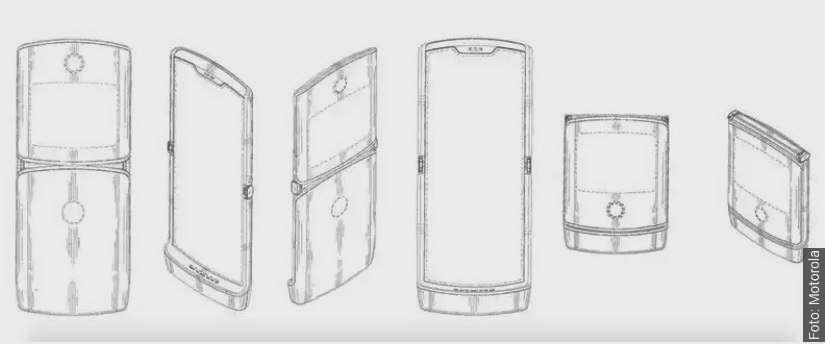 motorola składany smartfon