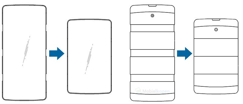 lg Rozciągalny smartfon