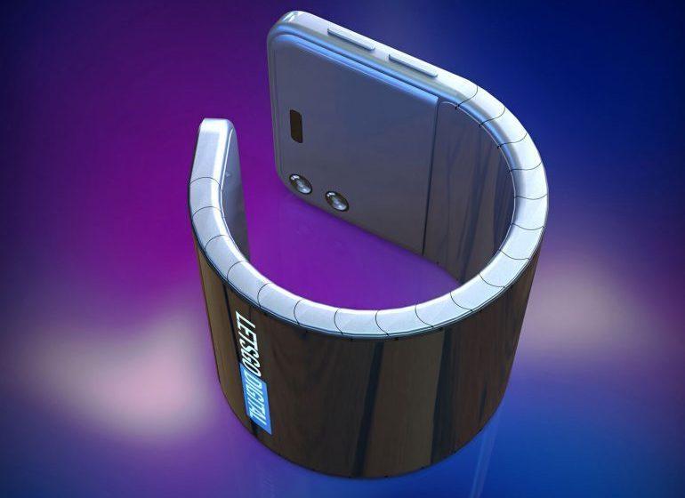 rozkładany zegarek smartfon samsung