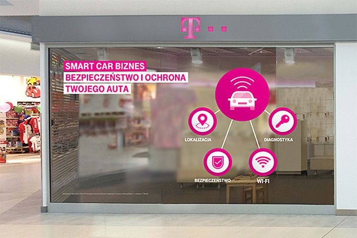 T‑Mobile wprowadził usługę inteligentnego zarządzania samochodami dla przedsiębiorców