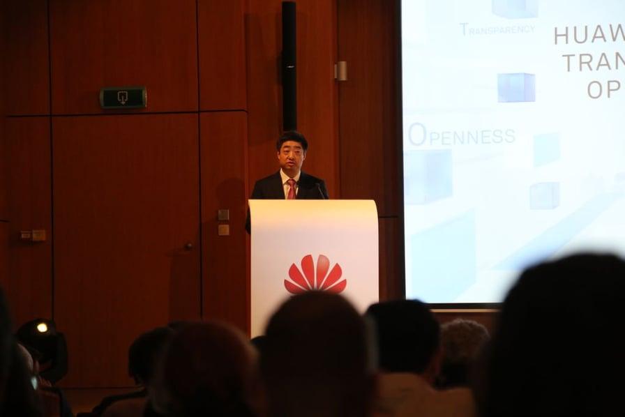 Huawei otwiera Centrum Przejrzystości i Bezpieczeństwa Cybernetycznego w Brukseli Ken Hu