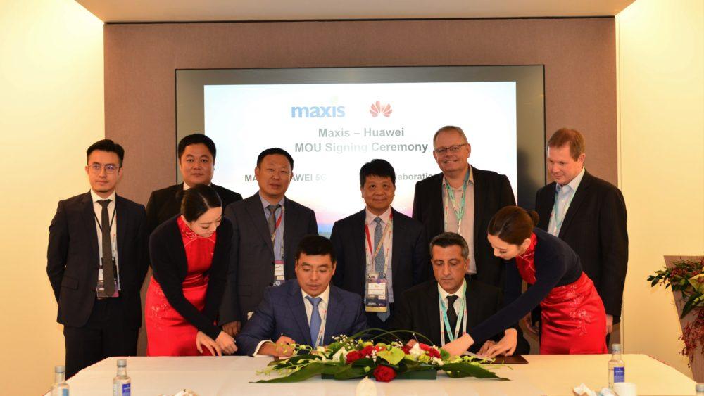 Huawei MWC Maxis i Huawei podpisali porozumienie
