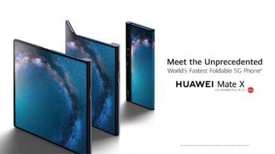 Huawei Mate X i Huawei Mate 20 Pro z prestiżowymi nagrodami targów MWC 2019