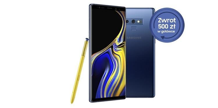 500 zł premii za zakup Samsunga Galaxy Note 9