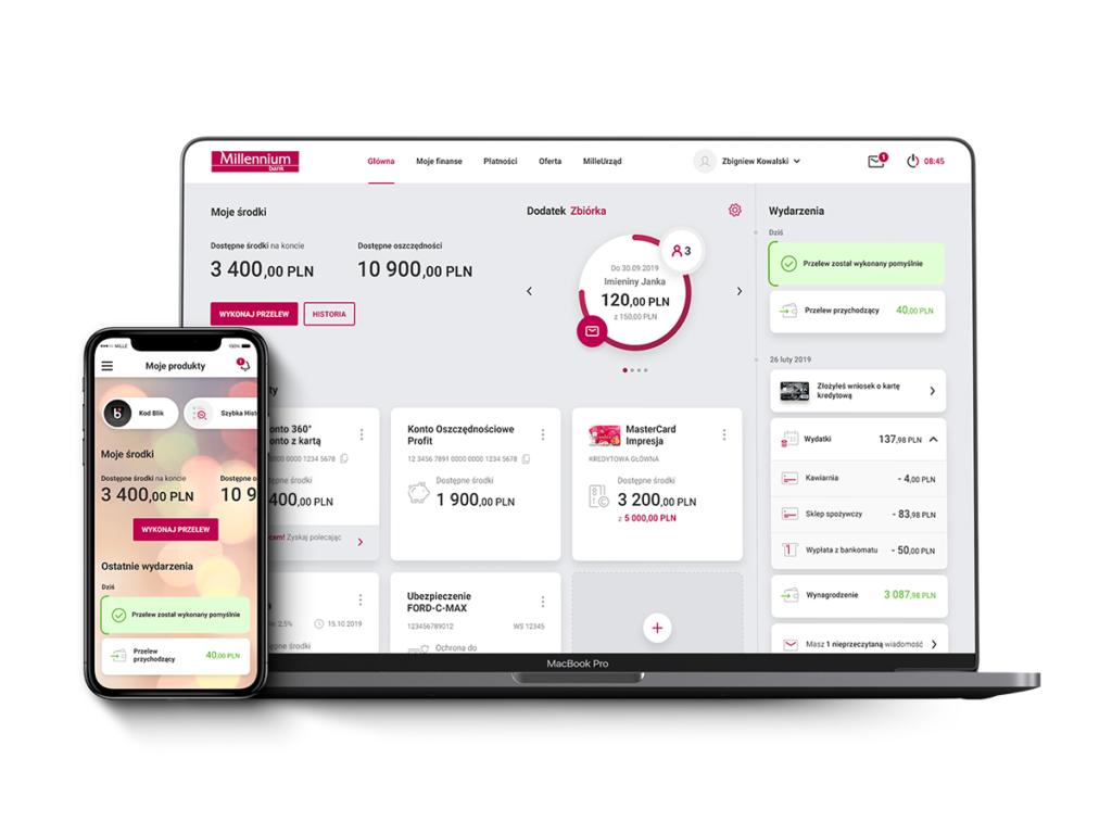 bank millennium aplikacja