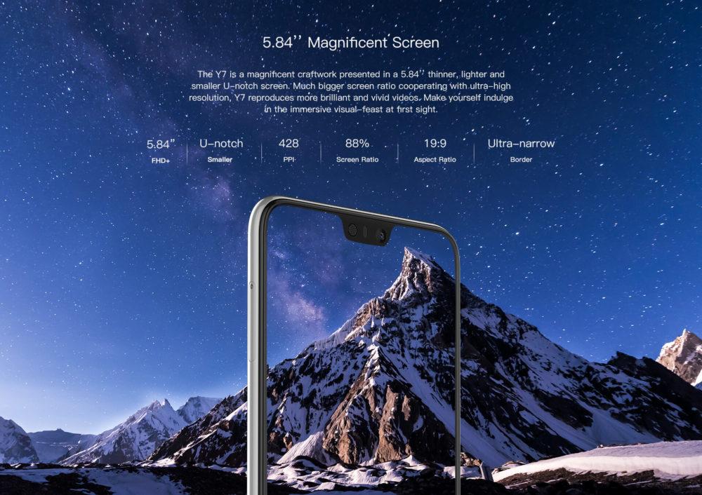 Y7 Screen