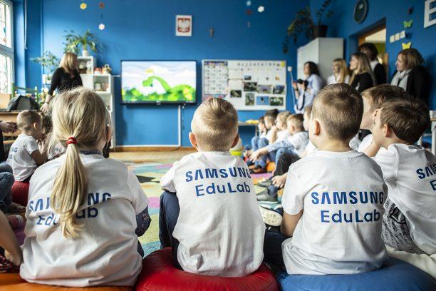 Samsung otwiera pracownię EduLab, wspierającą rozwój kompetencji cyfrowych u dzieci