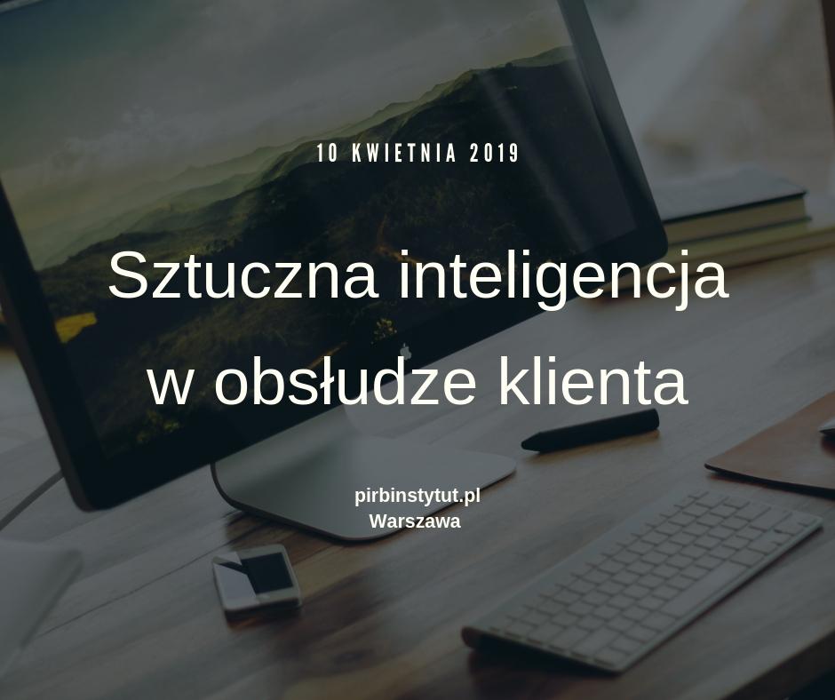 Sztuczna inteligencja w obsłudze klienta 1