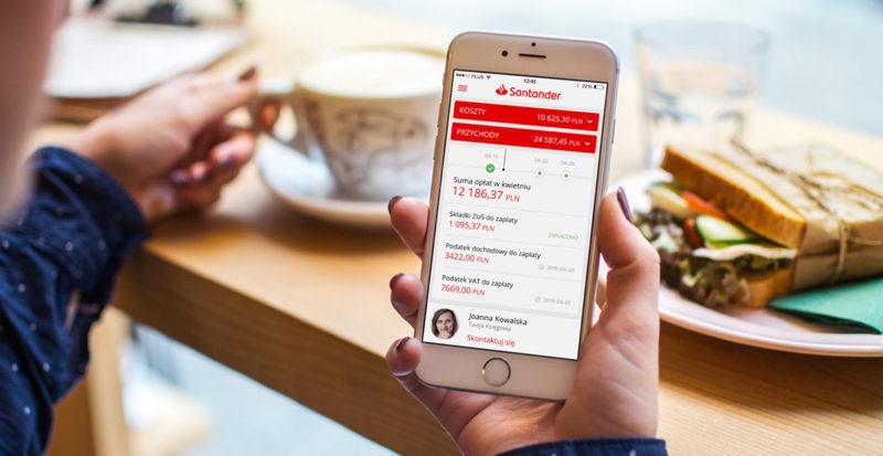 Aplikacja Santander mobile najlepsza według internautów