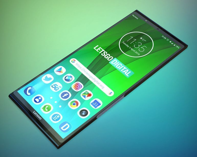 lenovo składany smartfon