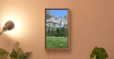 Inteligentne okno Atmoph z ogromnym wyświetlaczem