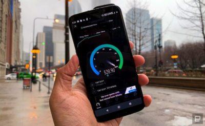 verizon 5G zasięg internet