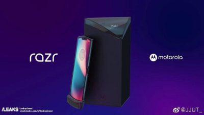 Motorola RAZR: pojawiły się pierwsze zdjęcia składanego smartfonu z elastycznym ekranem