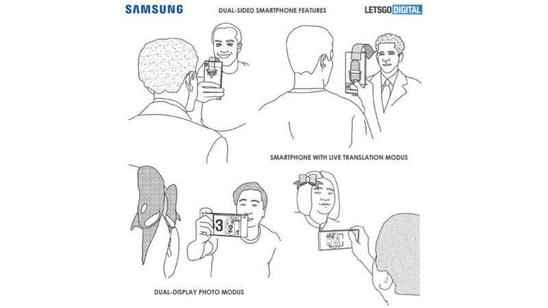 Samsung opatentował telefon z nieprzerwanym wyświetlaczem