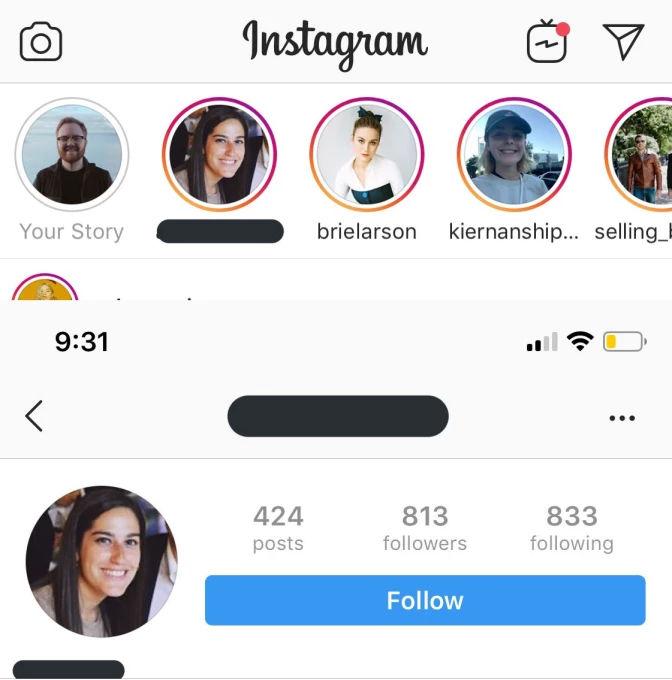 Instagram z powodu awarii pokazywał stories nieznajomym osobom 1