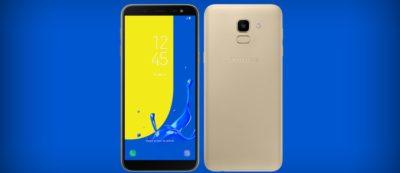 Samsung Galaxy J6 aktualizacja android 9 pie