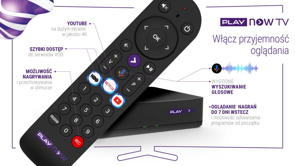 Nowa usługa dla miłośników filmów i seriali - PLAY NOW TV