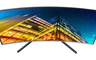 Pierwszy monitor Curved 4K z funkcją upscalingu już w sprzedaży