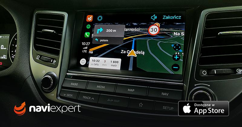 Nawigacja NaviExpert dostępna w CarPlay
