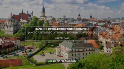 internet mobilny w polsce ranking MARZEC 2019
