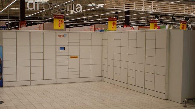 Największy w Polsce automat SwipBox stanął w Carrefour na warszawskim Targówku