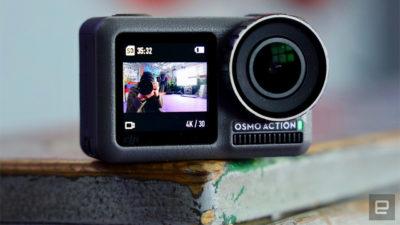 DJI wydała kamerę sportową Osmo Action