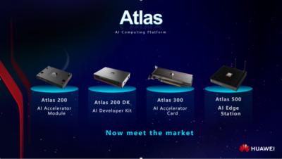 Huawei wprowadza platformę obliczeniową Atlas AI