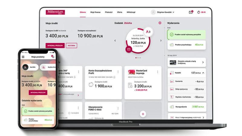 Nowy Millenet i aplikacja mobilna 2 Bank Millennium