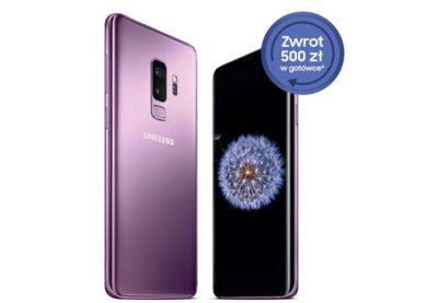 Kup Samsung Galaxy S9 lub S9+ i odzyskaj 500 zł