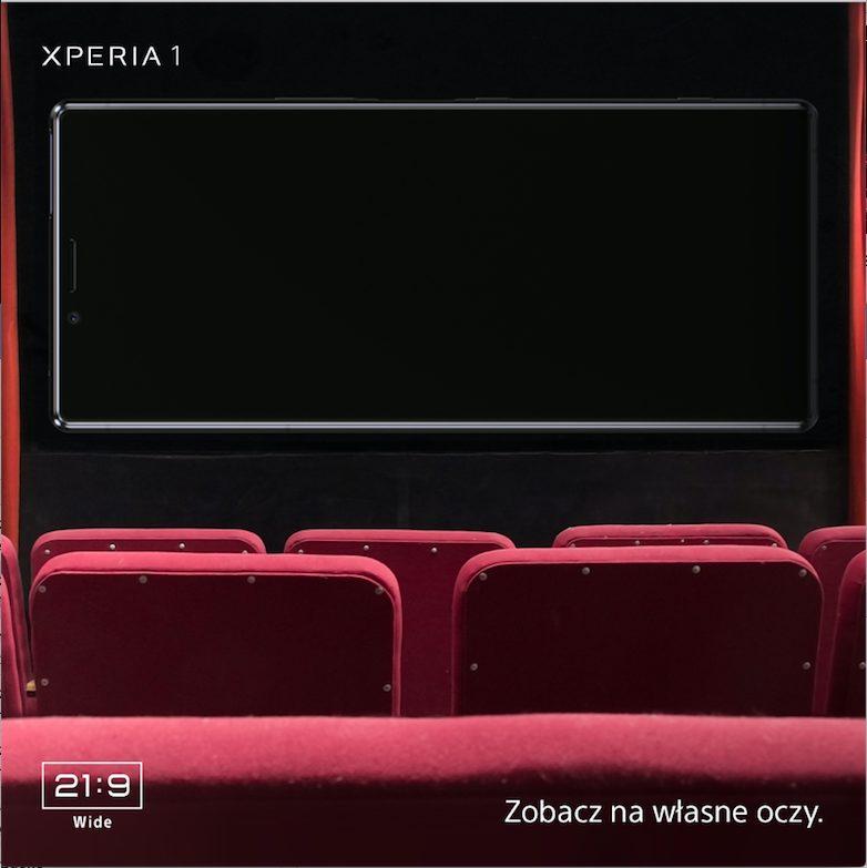 Pierwszy publiczny pokaz Xperii 1 w Polsce 1