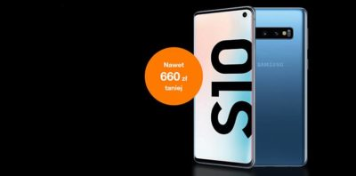 Superobniżka na Samsung Galaxy S10