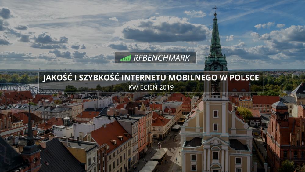 internet mobilny w polsce KWIECIEŃ 2019