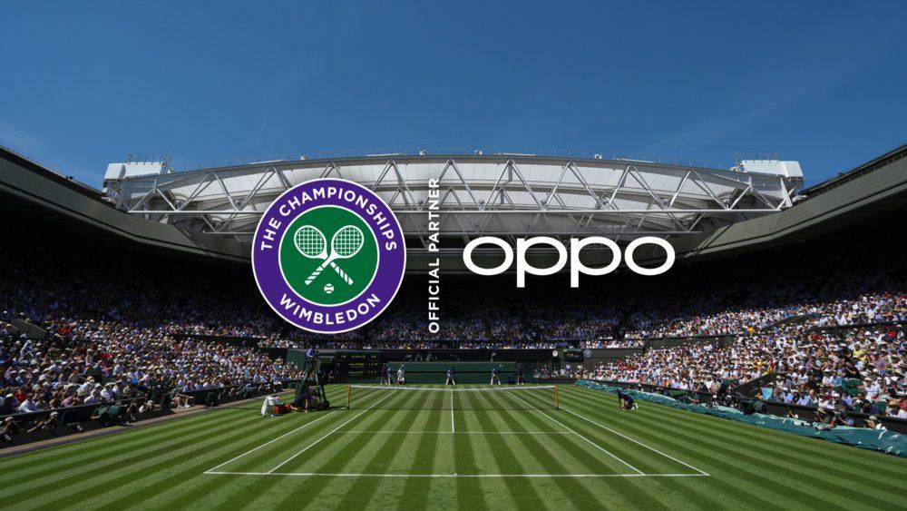 OPPO oficjalnym partnerem turnieju Wimbledon