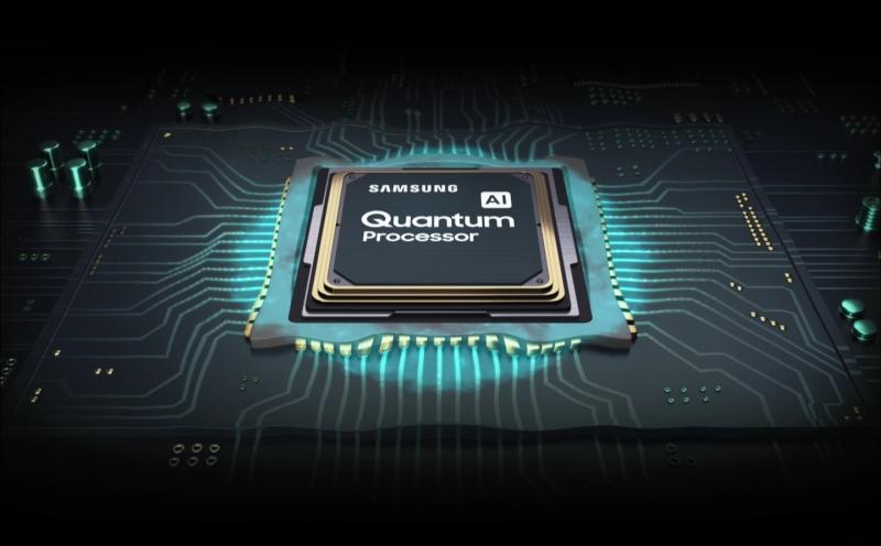 telewizor samsung q90 procesor quantum