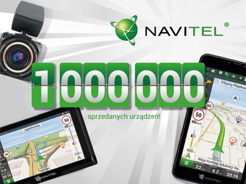Milion sprzedanych urządzeń NAVITEL