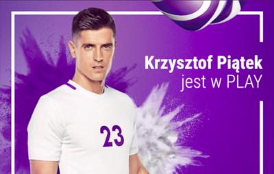 Play ustrzelił nowego zawodnika do swojej drużyny – transfer Krzysztofa Piątka