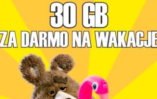 30 GB za darmo na wakacje od Plusha