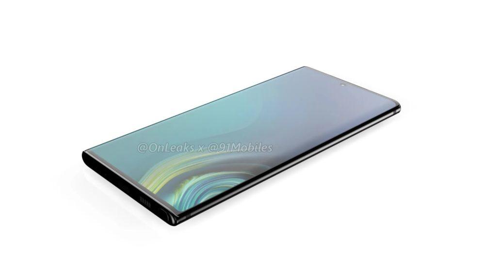 Samsung Galaxy Note10: projekt flagowca został w pełni ujawniony