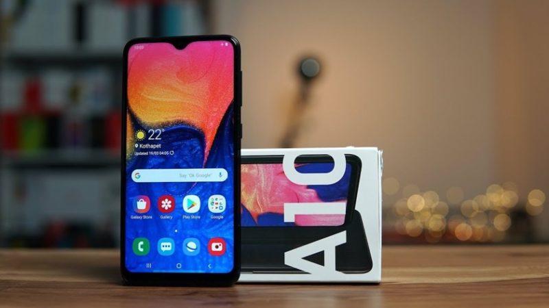 Gizmo Times Samsung Galaxy A10s otrzyma skaner linii papilarnych i podwójny aparat