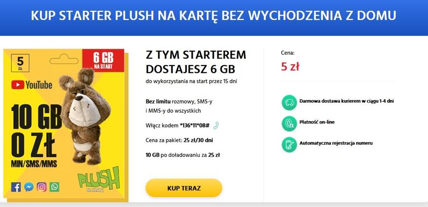Kup starter prepaid bez wychodzenia z domu