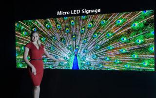 LG pokazalo najnowsze rozwiązania dla biznesu, w tym najnowszy panel informacyjno-reklamowy Micro Led