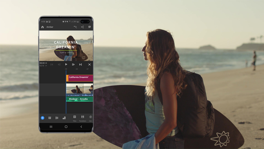 Samsung z Adobe, Premiere Rush for Samsung