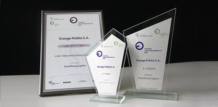 Ranking Odpowiedzialnych Firm – Orange Polska na podium