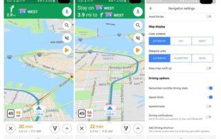 W Google Maps pojawił się prędkościomierz